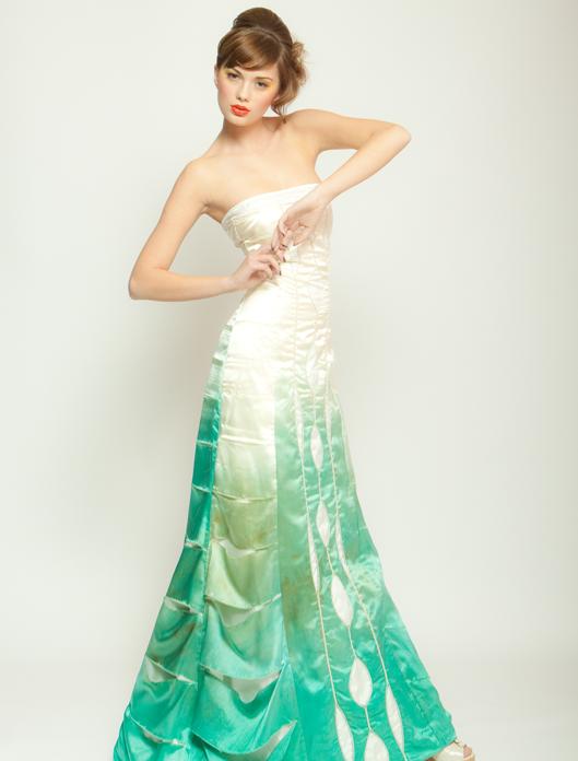 Seafoam L\'Arbre Dress | Wai-Ching Studio